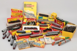 Trix - Großes Eisenbahnkonvolut Spur H0