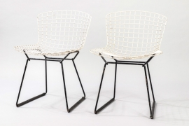 Set Of Two Knoll International Dining Chairs // Harry Bertoia