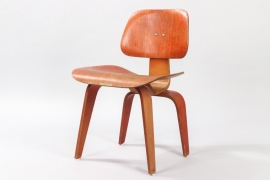 Red Aniline DCW by Herman Miller // Charles and Ray Eames