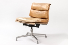 Soft Pad Chair EA208, for ICF Italy, 1960s // Charles and Ray Eames