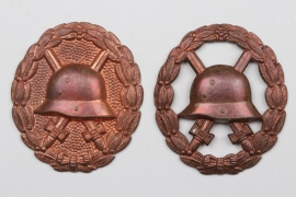 Imperial Germany - WWI Wound Badge blanks