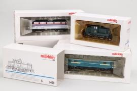 Märklin - Konvolut Lokomotiven Spur H0