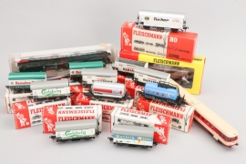 Fleischmann - Eisenbahnkonvolut Spur H0