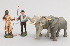 Elastolin - Lineol - Konvolut Menschen & Tiere