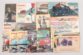 Märklin - Konvolut 22 Kataloge und Prospekte