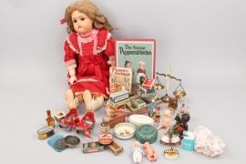 Großes Puppenkonvolut
