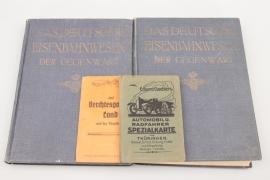 Eisenbahn und Automobil Bücherkonvolut