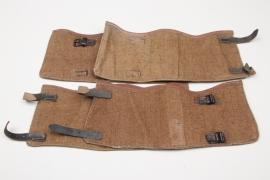 2 + pairs gaiters Wehrmacht