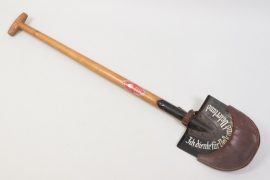 "1935 Third Reich RAD commemorative spade - RAD-Abt. 1/143 ""Merseburg"""