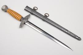Denazified Luftwaffe officer's dagger - EICKHORN
