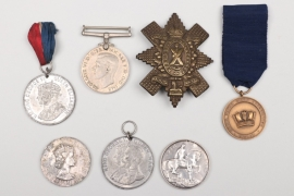 Great Britain - 7 + medals + cap badge