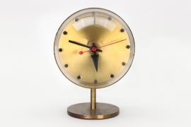 Howard Miller Clock Company table clock model 4766 // George Nelson & Associates