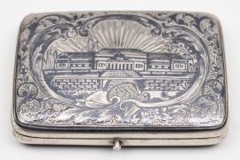 Russia - Niello silver case