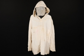 Heer white winter camo smock with face mask