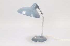 Rare Blue Model 6786 Table Lamp // //Christian Dell for Kaiser Idell