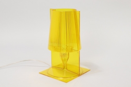 Yellow Kartell 'Take' Table Lamp // Ferruccio Laviani