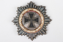1957 German Cross in gold with diamonds (replica)