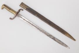 "Prussia - M1871 infantry bayonet - ""K.A.R.1.125"""