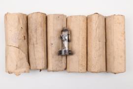 """6 + Third Reich """"RL 12 T2"""" radio tubes - unissued"""