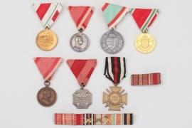 Austria - WW1 veteran's medal grouping