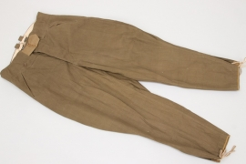 Heer tropical field breeches - unissued