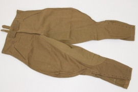 Heer M43 tropical field breeches - unissued