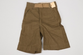 Heer tropical shorts - factory tag + Rb-number