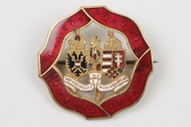 Österreich-Ungarn K.u.K emailliertes Abzeichen