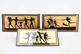 3 + Silhouettes by Fidus