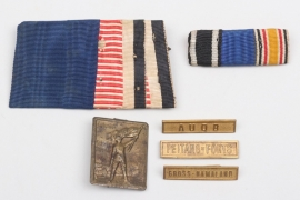 Imperial Germany - colonial medal bar & tinny