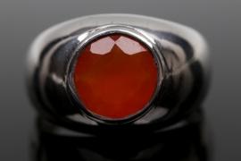 Silberring mit Karneol