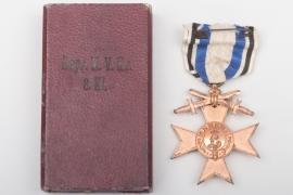 Bavaria - Military Merit Cross 3rd Class in case - Leser