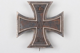 1914 Iron Cross 1st Class - WS