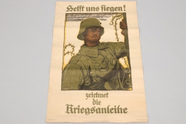 "WWI ""Kriegsanleihe"" donation poster"