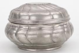 Zuckerdose aus Zinn - 19. Jahrhundert