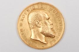 Württemberg - Civil Merit Medal in gold - 900