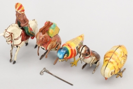 Köhler - Konvolut Blechspielzeug