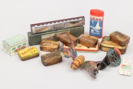 Konvolut Blechspielzeug & Blechdosen