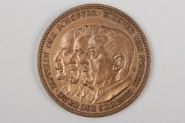 "1929 I. Weltfahrt des Luftschiffs ""Graf Zeppelin"" Medaille"