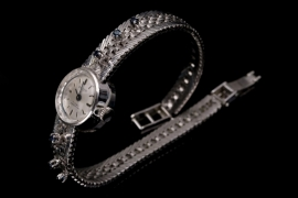 "Vintage silver ""Anker Z"" watch"