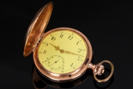 Imperial Germany - Golden IWC pocket watch