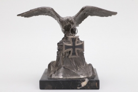 WWI eagle table decoration with Iron Cross