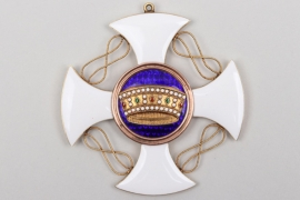 Italy - Order of the Crown of Italy, Commander' Cross