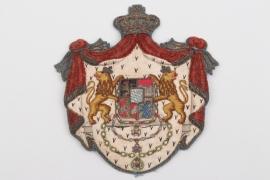 "Bavaria - impressive ""Reichsheroldenamt"" cloth badge"