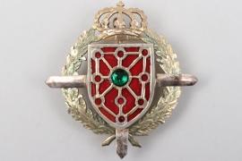 """Ofw. Elsenhans - Spanish """"Armeekorps von Navarra"""" badge"""