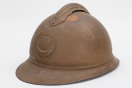 France - M1915 adrian helmet for colonial troops