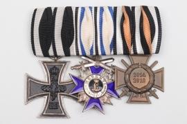 Bavaria - Military Merit Order 4th Class medal bar
