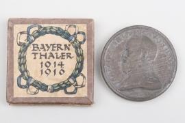 """WW1 Bavarian """"Bayernthaler"""" 1914/16 in case"""