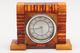 Third Reich Bernstein table clock