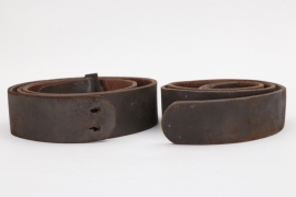 Imperial Germany - two field belts M1870, M1895